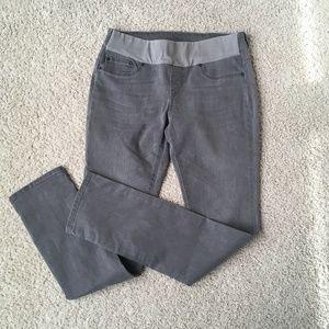 Seraphine Maternity Jeans, Gray Skinny